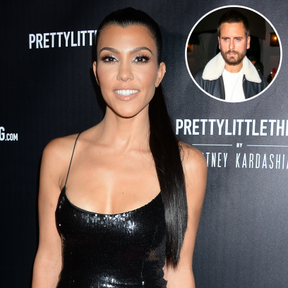 Kourtney Kardashian Hints at Her 'Happier Life' Amid Scott Drama