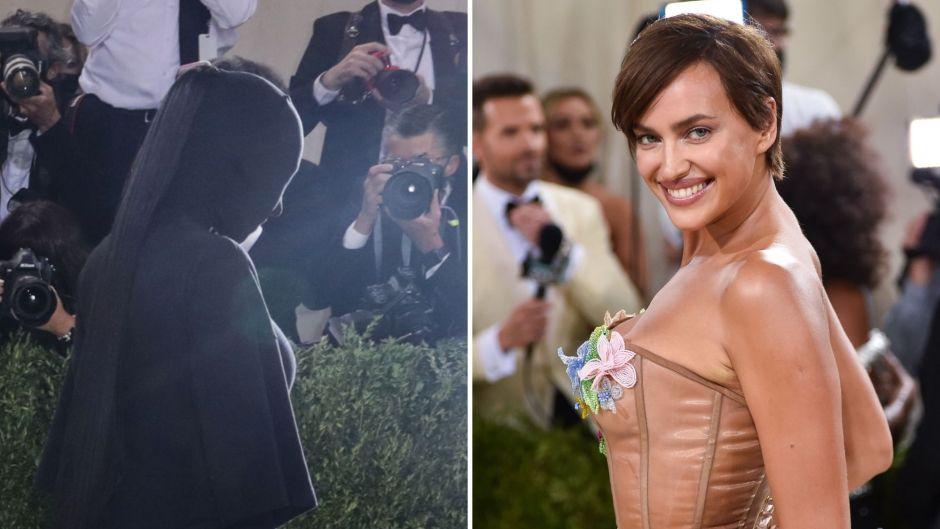 Kim Kardashian and Irina Shayk Met Gala Showdown After Kanye West