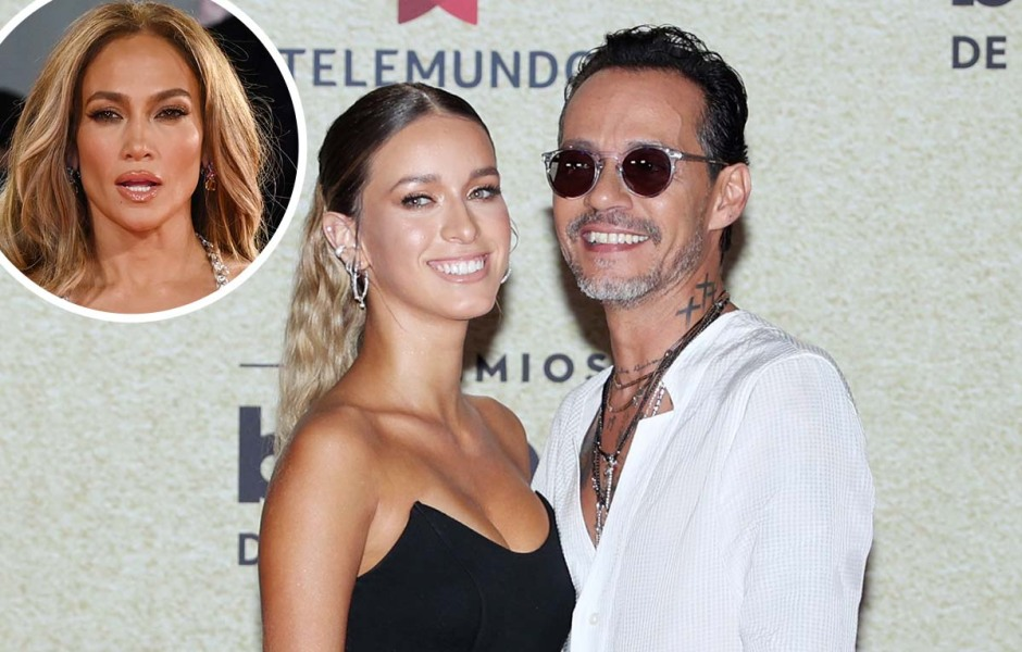 J. Los Ex Husband Marc Anthony Goes Public With New GF Latin Music Awards