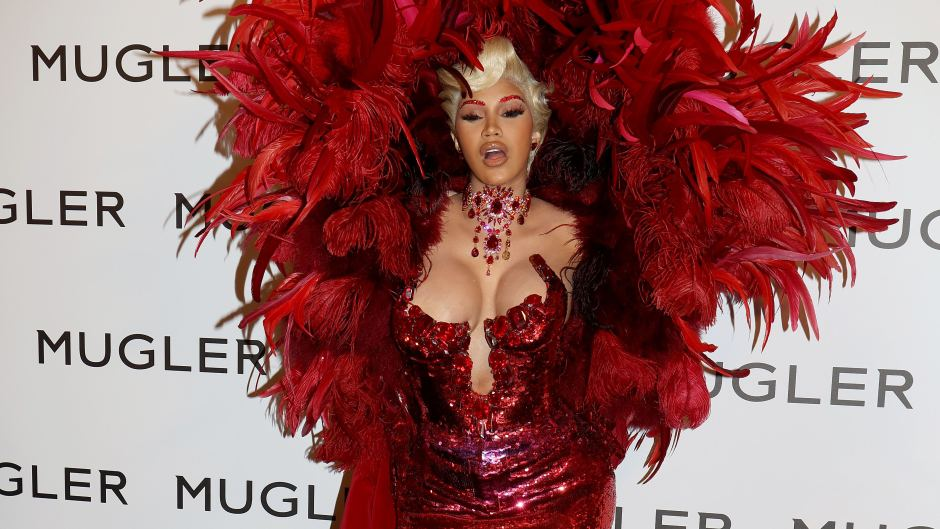 Cardi B Post Baby Body Gowns Paris