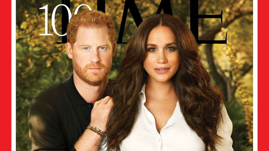 Prince Harry Meghan Markle Time 100 Cover Gets Slammed Heavy Airbrushing It Looks So Fake
