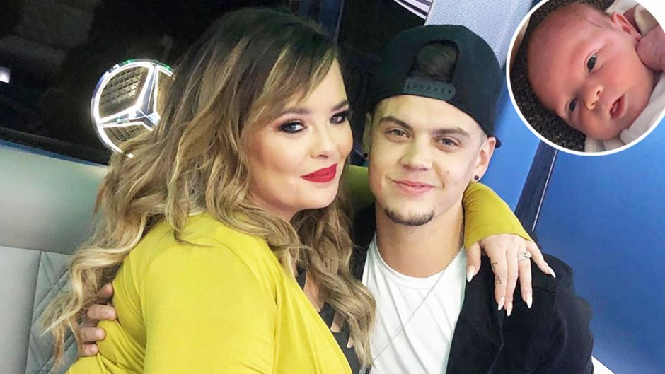 Tyler Baltierra Shows Comparison All 4 His Catelynn Lowell Baby Girls