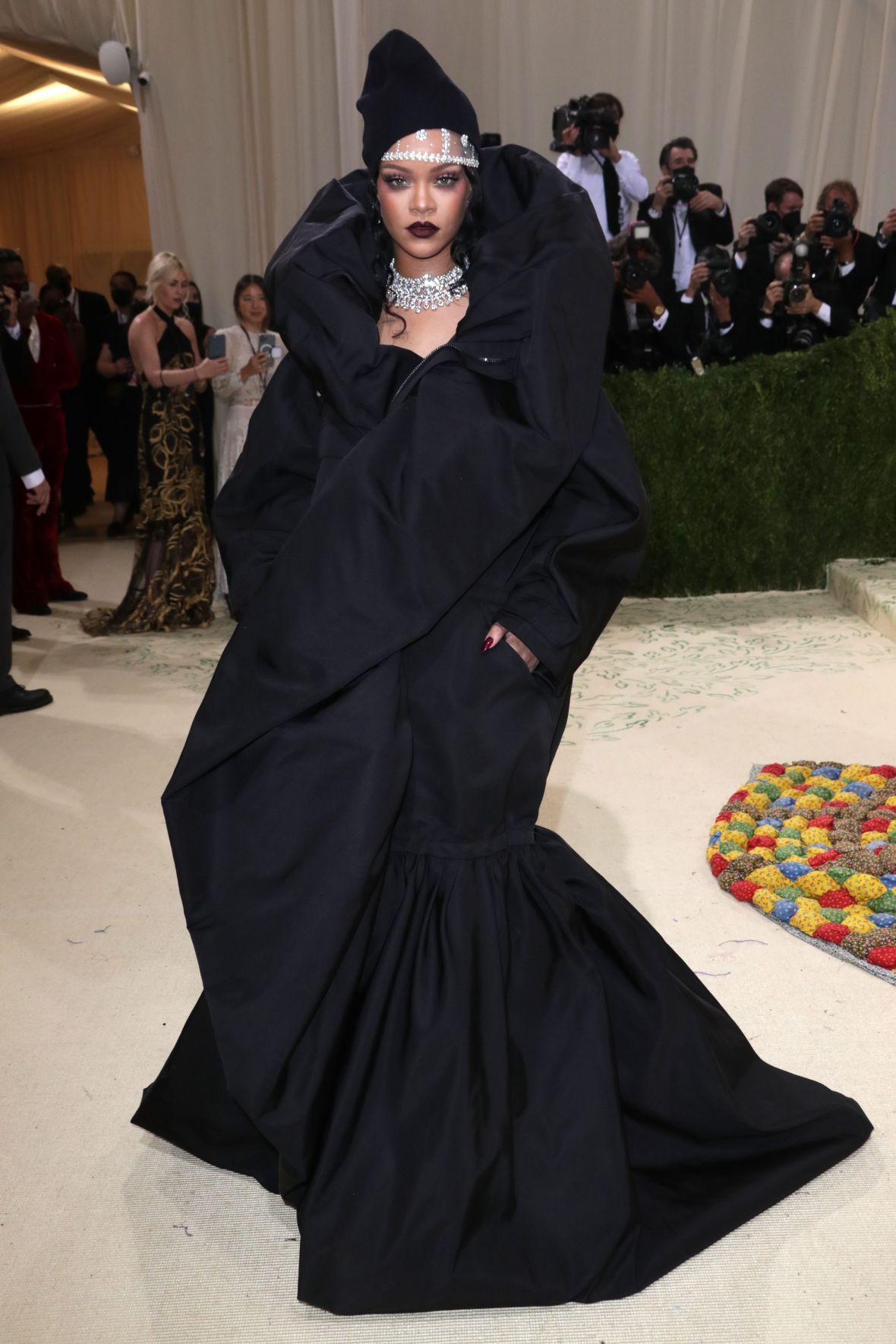 Rihanna Gown Met Gala