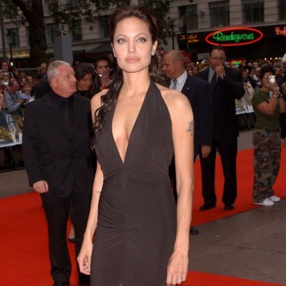 Angelina Jolie's Best Braless Red Carpet Looks Over the Years: See Photos!