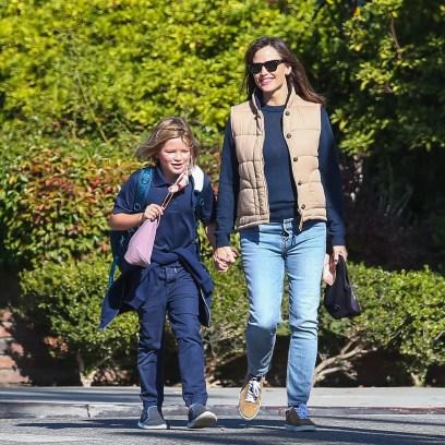 Jennifer Garner and Son