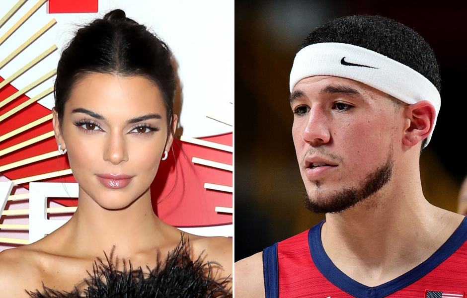 Kendall Jenner and Boyfriend Devin Booker Share Their 1st Public Kiss at NBA Game