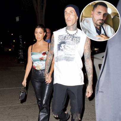 Kourtney Kardashian Is 'Refusing' to Speak to Ex Scott Disick About Travis Barker Engagement-featured
