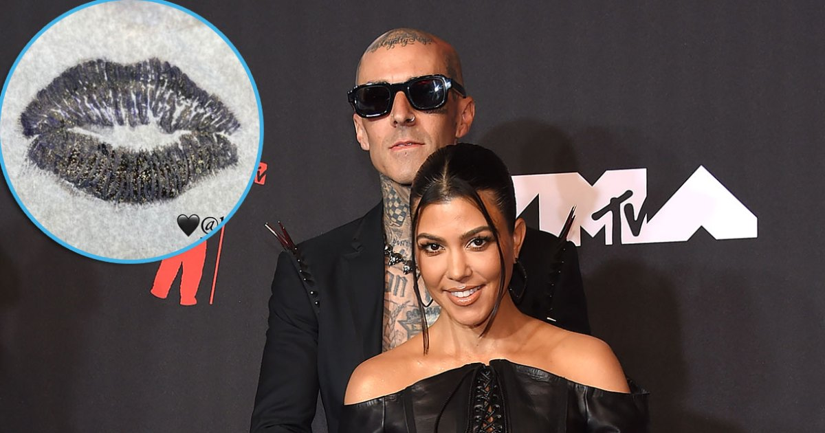 Travis Barker Covers Ex Shanna Moakler's Name With Kourtney Kardashian's Lips and Scorpion Tattoos