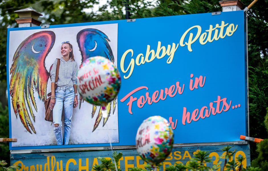 Billboard Honoring Gabby Petito