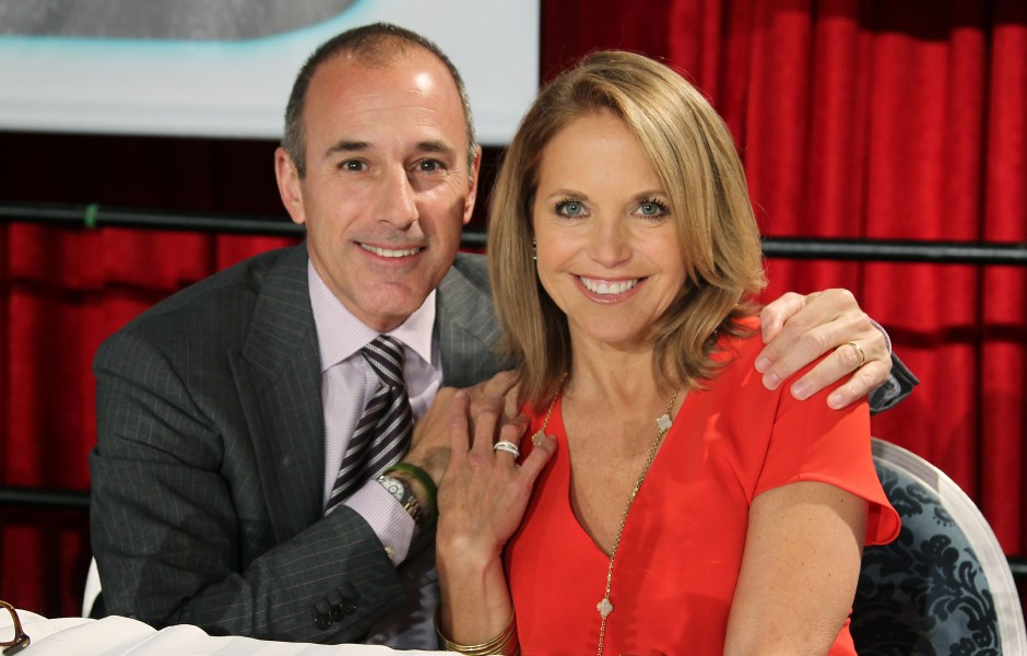 Katie Couric has no relationship with Matt Lauer after sexual assault accusations.